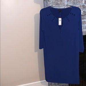 Banana Republic dress blue szM